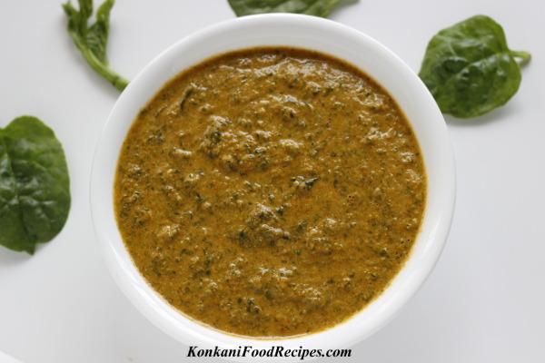 Malabar Spinach Tambli (Vali Tambali/Thambali)