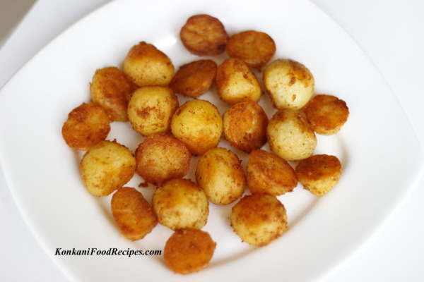 Pan Fried Baby Potatoes