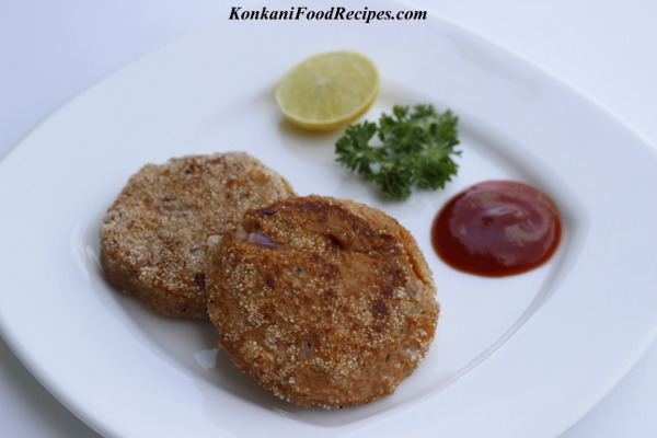 Plantain/Raw Banana Potato Cutlet