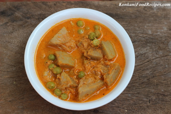 Raw Jackfruit Curry (Kadgi Randayi)