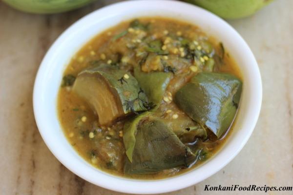 Brinjal In Tangy Sauce (Gulla Bol Huli)