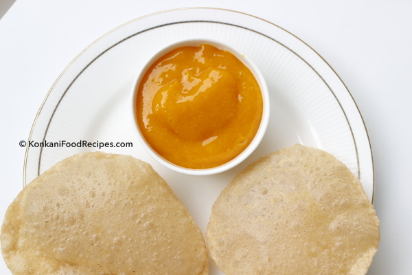 Aamras recipe, Aamras With Poori, How to make Aamras