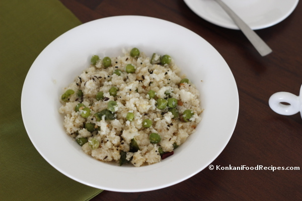 Green Peas Upma Recipe, Uppittu, Rava Upma Recipe
