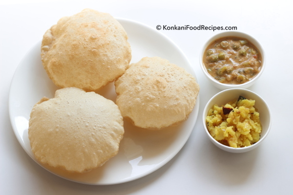 Poori/Puri Recipe, How To Make Soft, Fluffy, Oil Free Pooris