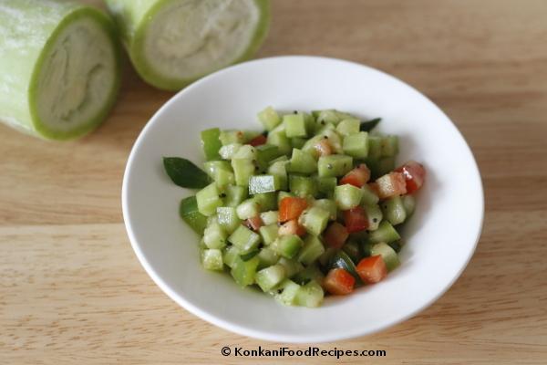 Snake Gourd Salad Recipe
