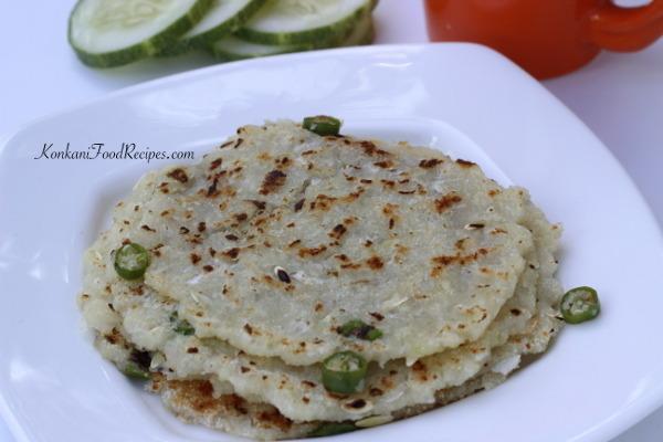 Vegetable Dosas Of GSB Konkani Cuisine