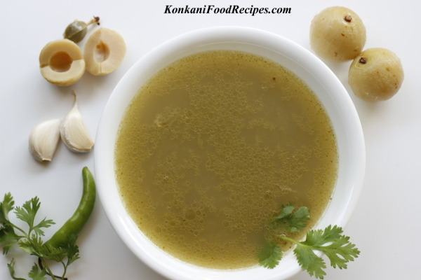 Gooseberry/Amla Super Quick Rasam Recipe - (Avale Toy/Saaru, Nellikayi Saar)